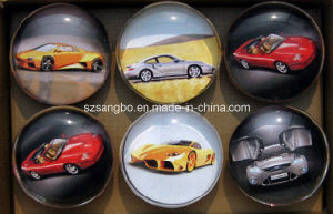Decorative Glass Magnetic Button for Whiteboard pictures & photos
