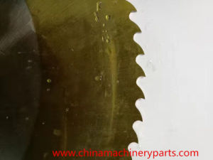Cobalt-Alloyed Steel M35 (DIN 1.3243) Circular Saw Blade pictures & photos