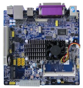 DDR3 MINI Itx mother board with 1 *PCIE slot and PCI socket pictures & photos
