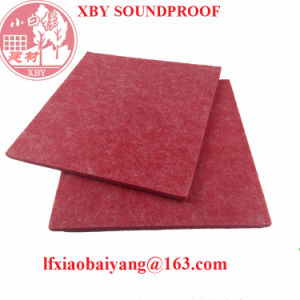 Soundproof Polyester Fiber Acoustic Panel for Building Material Decoration Panel Board Sheet pictures & photos