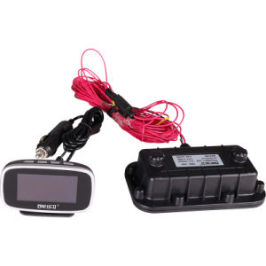 OLED Display Bilingual Truck Bus TPMS with Extermal Sensor for 2 to 24 Tires or Multi-Wheels Vehicle pictures & photos