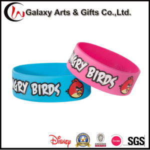 "Custom 1"" Printed Brids Wristband Silicone/Bracelet/Silicone Band pictures & photos"