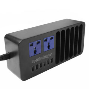 Universal 6 Ports 5V 9V 12V USB Charger with Receives Ark pictures & photos