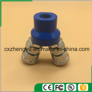 Pneumatic Quick Coupler/Connector/Fittings with 2 Pass (SMV)