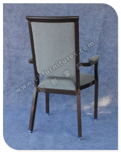 Hot Sale Armrest Dining Chairs Furniture (YC-E65-06) pictures & photos