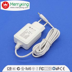5V2000mA AC/DC Ek Plug Power Adapter with Kcc Certificate pictures & photos