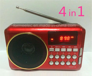 Mini Radio Portable Multimedia USB TF Card Radio pictures & photos