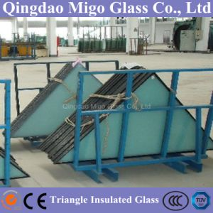 Architectural Triangle Shaped Double Glazing Hollow Glass for Building Window pictures & photos