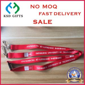Custom Colorful Polyester Nylon Printed Phone Lanyards for Forum Meeting pictures & photos