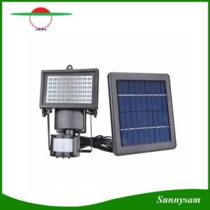 Outdoor 60 LED Solar Flood Light Garden Light with Motion Sensor pictures & photos