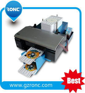 Flatable CD Printer with Free Automatic CD Trays pictures & photos