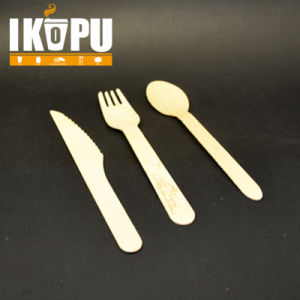 Eco Friendly Biodegradable Wood Cutlery Set pictures & photos