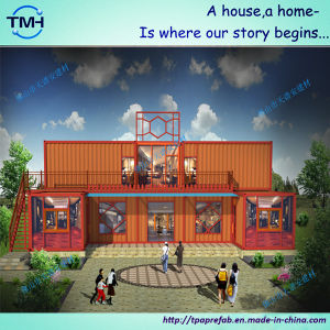 Newly Design Steel Structure Container House Department pictures & photos