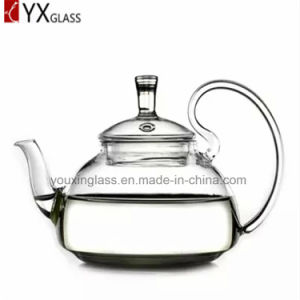 Borosilicate Glass Tea Pot /Blooming Flower Teapot Water Carafe Glass pictures & photos