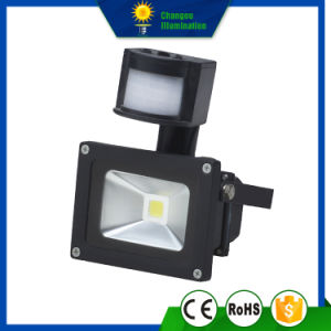 10W Superbright LED Sensor Floodlight pictures & photos