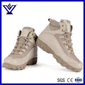 Khaki New Design Tactical Military Army Outdoor Sports Desert Combat Assault Boots (SYSG-201752) pictures & photos