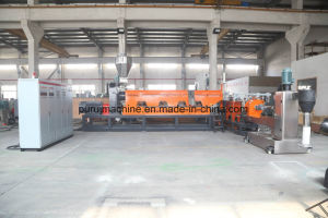 Waste HDPE Milk Bottle Flakes Plastic Recycling Granulating Machine pictures & photos