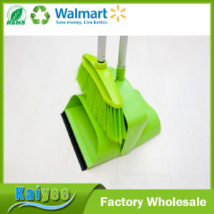 Fashion Design Folding Magic Broom and Dustpan Set pictures & photos