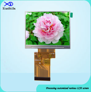 3.5 Inch LCD Screen 320 (RGB) × 240resolution LED Display with 550CD/M2 Brightness pictures & photos