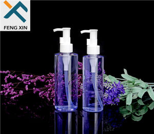 200ml Pet Plastic Cylinder Bottle with White PP Plastic Pump pictures & photos