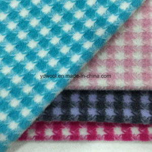 Check Napping Houndstooth Wool Fabric pictures & photos