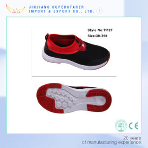 Superstarer EVA Injection Fabric Upper Kids Casual School Shoes pictures & photos