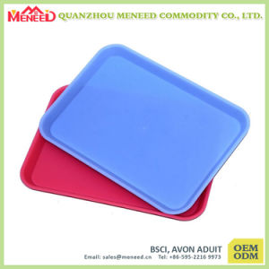 Solid Color Coffee Shop Use Melamine Servicing Trays pictures & photos