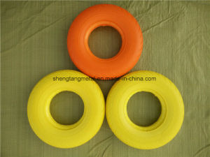 Rubber Flat Free PU Foam Wheel pictures & photos