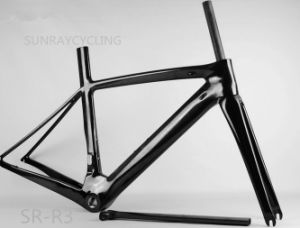 2017 All Carbon Fiber 700c Road Bicycle Frame with Front Fork Brackets Frame pictures & photos