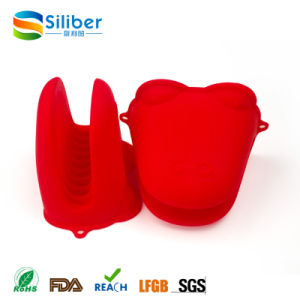 Food Grade Silicone Material Frog Glove Shape Pot Holder Gloves pictures & photos