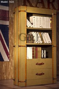 Industrial Aviator Vintage Canvas Bookcases pictures & photos