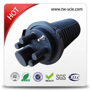 Horizontal 48 Fiber Optic Splicing Closure pictures & photos