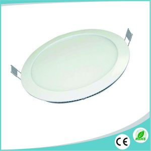 Die Casting Aluminum Round Slim 18W LED Panel for Ceiling Light pictures & photos