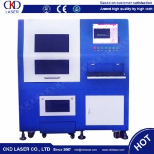500W Small Size Precision Sealing Fiber Laser Cutting Machine for Metal pictures & photos