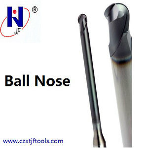High Performance Solid Carbide 4 Flutes Ball Nose End Mill pictures & photos