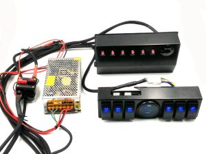 Jeep Wrangler Jk 07+ 6-Switch Panel with Control and Source System Relay Box pictures & photos