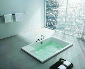 Quality Australian Popular Bathroom Products Acrylic Built-in Bathtub pictures & photos