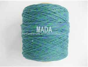Good Quality Green Cotton Mop Yarn pictures & photos
