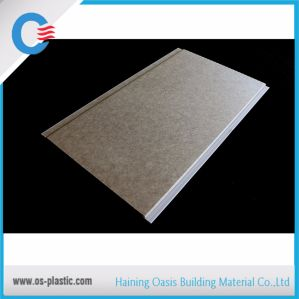 Shallow Laminated PVC Panel 25cm Width PVC Ceiling Panel pictures & photos