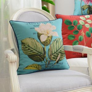 Cotton Linen Print Decorative Pillowcase for Bed Clearance pictures & photos