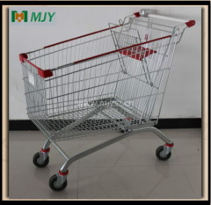 240 Liters Metal Shopping Cart Mjy-240b2 pictures & photos