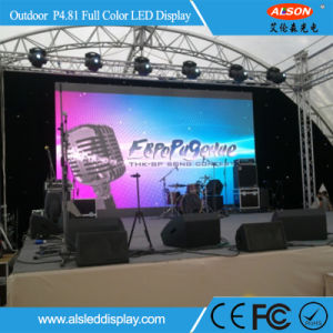 Advertising Full Color P4.81 Rental LED Display for Outdoor pictures & photos