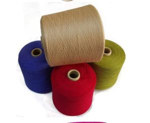 20% Wool, 30% Rayon, 50% Polyester Blended Yarn for Knitting