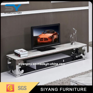 Newest Model Modern Glass TV Stand pictures & photos