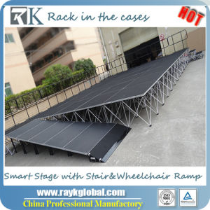 Best Aluminum Portable Dance Stage, Folding Smart Stage pictures & photos