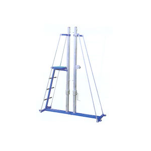 Wholesale Cheap Fixed Volleyball Post Equipment Volleyball Net System pictures & photos