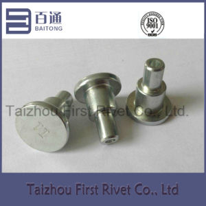 15.8X31mm White Zinc Plated Flat Head Tubular Steel Shoulder Rivet pictures & photos