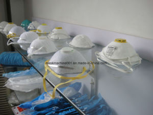 Ultrasonic Medical Nonwoven Disposable N95 Cup Dust Mask Making Machine pictures & photos