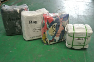 Premium Quality Grade AAA White Wiping Rags Cotton T-Shirt Wipers in Competitive Factory Cost pictures & photos