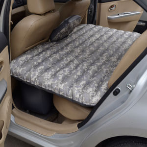 Inflatable Car Mattress Travel Air Bed with Air Pump pictures & photos